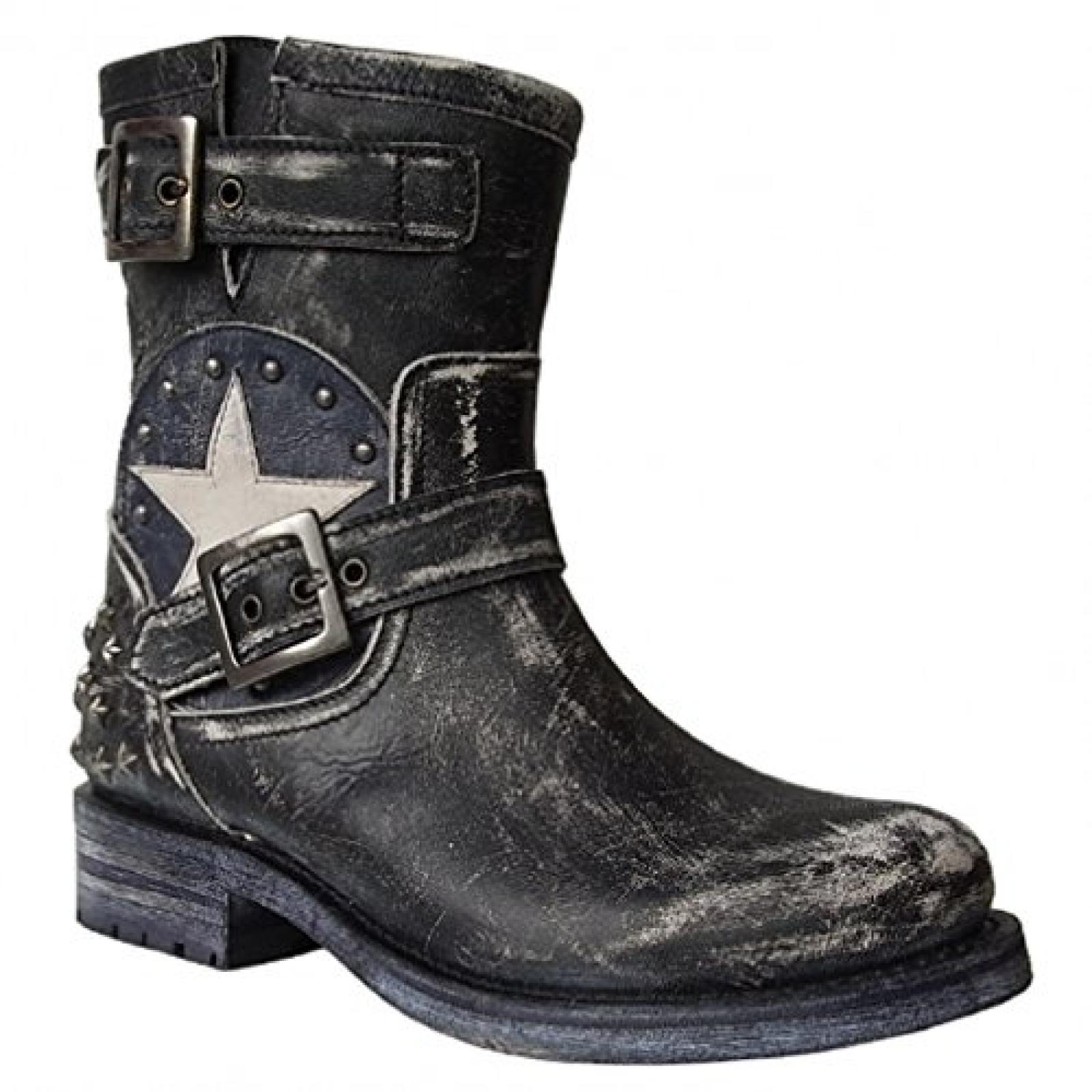 Sendra Boots 10796 schwarz