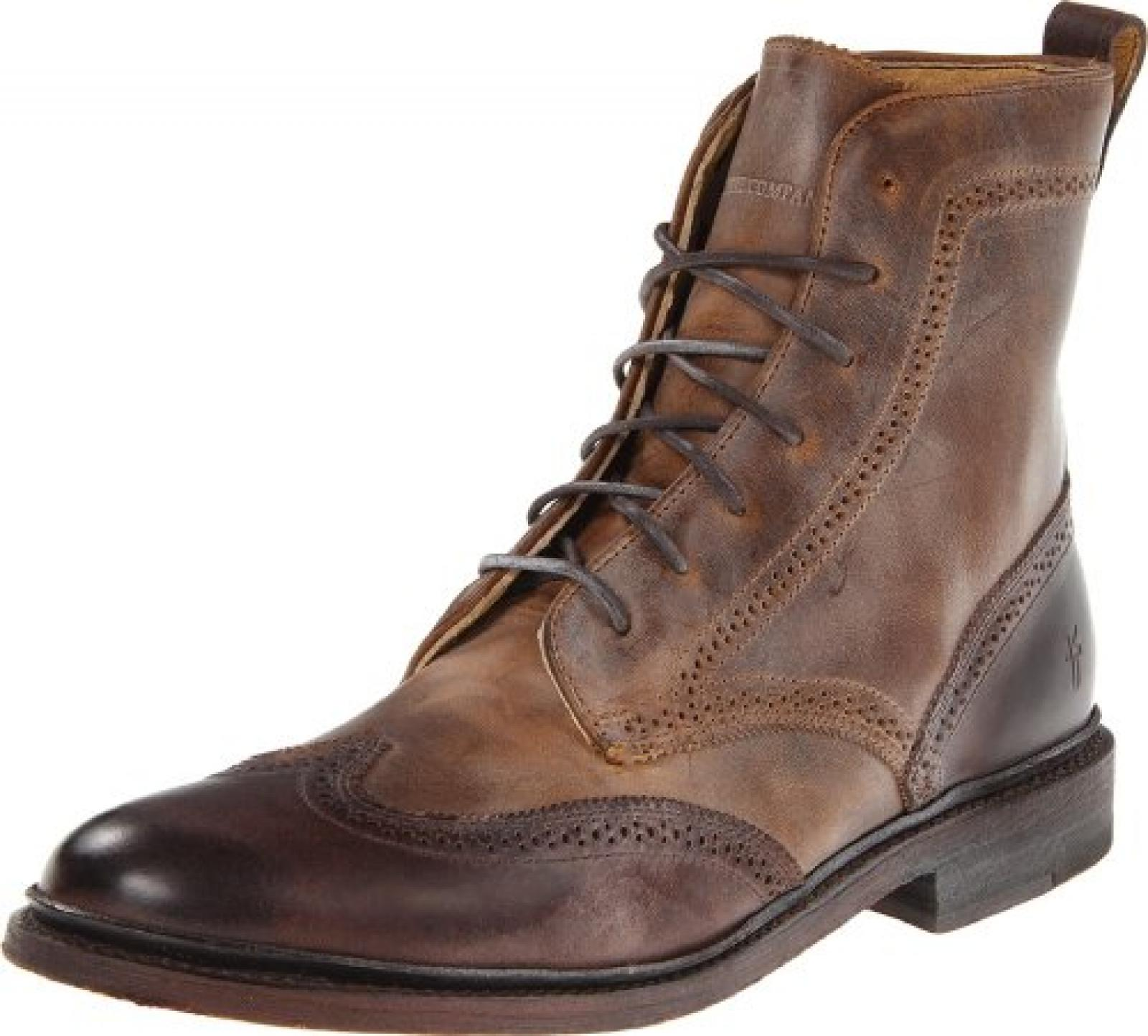 Frye James Wingtip Boot, Herren Stiefel
